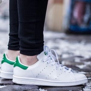 Adidas Stan Smith Originals Green Sneakers Shoes